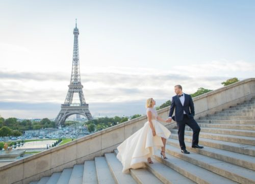 Evented Elope In Paris, France