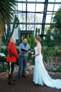 Evented Married at the Muttart Weddings
